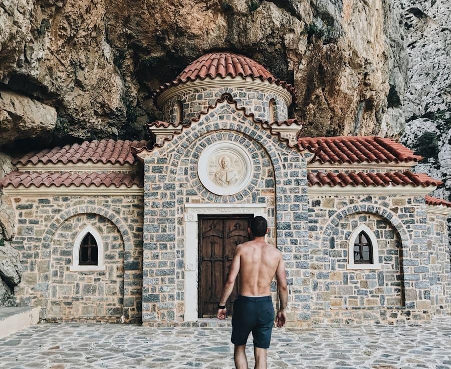 Часовня Николая Чудотворца на Крите