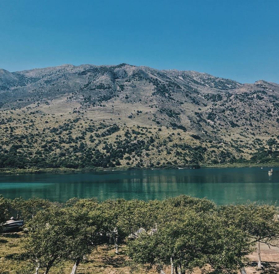 Курнас, единственное озеро
