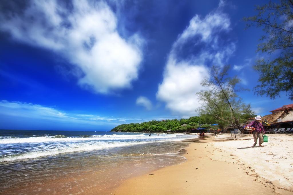 Испытание пляжем в Камбодже