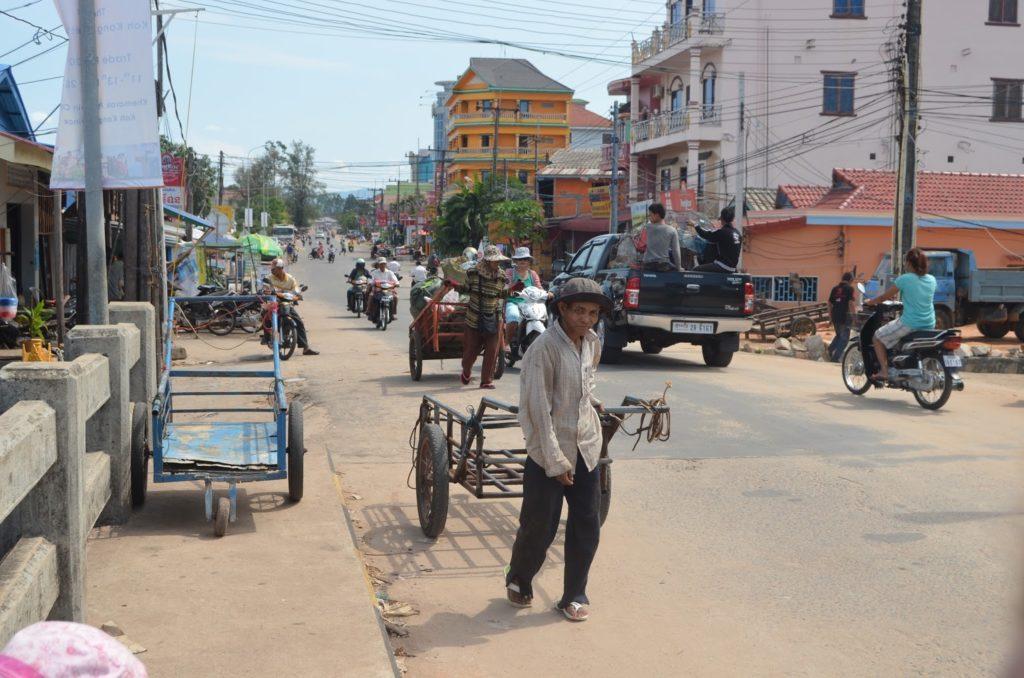 Испытание пляжем в Камбодже 1
